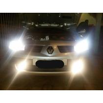 Lampada H1 H3 H4 H7 H8 H11 55w Super Branca (par) 6000k