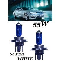 Kit Lâmpadas H1 H3 H4 H7 Hb3 Hb4 H11 Tipo Xenon Super Branca