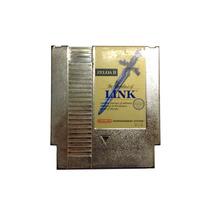 Zelda 2 Adventure Of Link! Cartucho Dourado! Nes Americano!