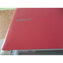 Netbook Samsung Atom N150 Plus Rosa- Semi Novo Promoção Veja