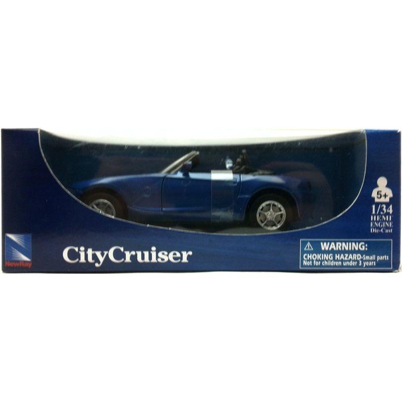 New Ray 1 32 City Cruiser Bmw Z4 Azul R 34 99 No