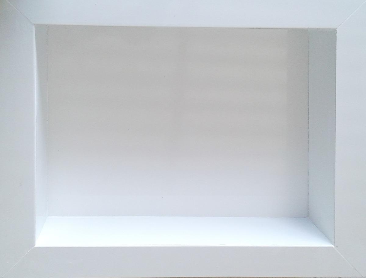 Nicho Branco Lindo A Pronta Entrega Porcelanato  R$ 170,00 no MercadoLivre -> Nicho Para Banheiro Valor