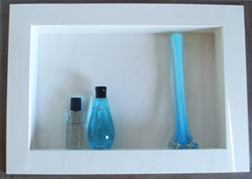 Nicho Para Banheiro Em Porcelanato  Arthome -> Nicho Banheiro Mercadolivre