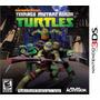 Nickelodeon Mutant Tartaruga Ninja Turtles Nintendo 3ds Novo