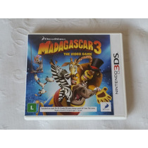 Madagascasr 3 - The Video Game - Semi Novo - Nintendo 3ds