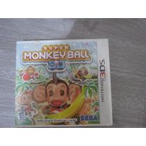Super Monkey Ball Para Nintendo 3ds
