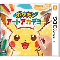 Jogo Nintendo 3ds/3dxl Pokemon Art Academy - Pronta Entrega
