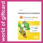Cartão Nintendo Eshop 3ds/wii U $10 Estados Unidos Por Email
