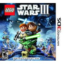 Lego Star Wars Iii: The Clone Wars (semi-novo) - 3ds