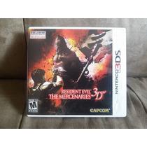 Jogo De Nintendo 3ds Resident Evil: The Mercenaries 3d