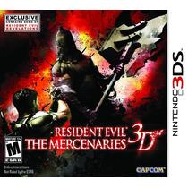 Resident Evil The Mercenaries - 3ds