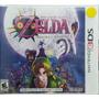 Zelda Majoras Mask Nintendo 3ds Novo Lacrado Envio Imediato