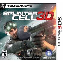 Splinter Cell 3d Novo/lacrado - 3ds - A Pronta Entrega