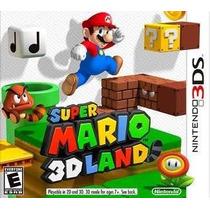 Jogo Nintendo 3ds Supermario 3d Land Usado, Midia Original