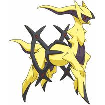 Pokémon Arceus Shiny Oras Xy 6ivs Legítimo Japonês