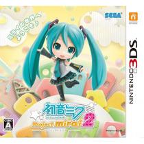 Hatsune Miku: Project Mirai 2 3ds Japonês