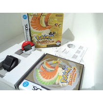 Box Pokémon Heart Gold - Original - Americano - Ds - 3ds