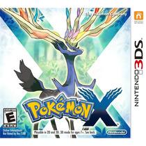 Pokemon X 3ds Frete Gratis Americano Novo Lacrado Original