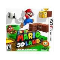 Jogo Nintendo Super Mario 3d Land 2ds 3ds New 3ds Lacrado