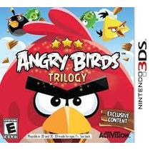 Jogos Nintendo 3ds-2d Angry Birds Trilogy Jogo Novo Lacrado