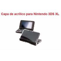 Capa Case De Acrílico Nintendo 3ds Xl + Películas Hori