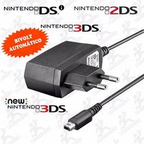 Carregador Bivolt Nintendo Dsi E 3ds, Frete Já Incluso!!