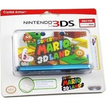 Case Crystal Armor Nintendo 3ds Super Mario 3d Land Oficial