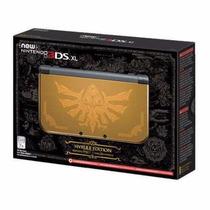 New Nintendo 3ds Xl Hyrule Gold Edition Zelda