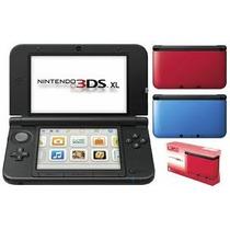Nintendo 3ds Xl Português 3d + 6 Ar Cards + Brinde:cartão4gb