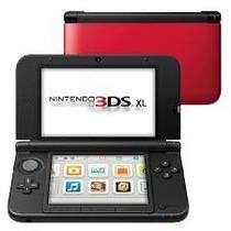 Nintendo 3ds Xl Vermelho Americano+ 4g + Caregador