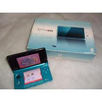 Nintendo 3ds + Jogo Mario Kart 7 + Cartão De Memória 2gb