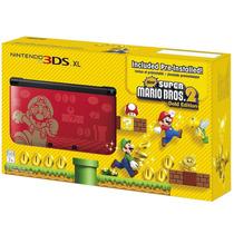 Nintendo 3ds Xl Português + Super Mario Bros 2 Original.