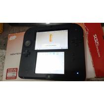 Nintendo 2ds Vermelho / Preto+ Jogo Pokemon Ruby =ac.troca