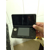 Nintendo 3ds Preto + Case + Película