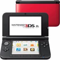 Nintendo 3ds-xl Novo Video Game Portátil Vermelho Fretegráti