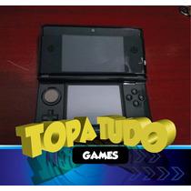 Nintendo 3ds + Pelicula + Capa + Jogo Com Garantia Loja Bh