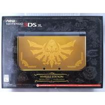 New Nintendo 3ds Xl Hyrule Gold Edition - Lacrado De Fábrica