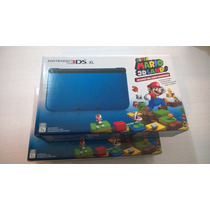 Nintendo 3ds Xl Azul + Super Mario 3d Land