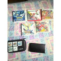 Nintendo 3ds Usado Com Jogos Originais