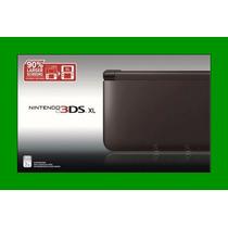Nintendo 3ds Xl Preto Fosco + 6 Ar Cards