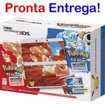 New Nintendo 3ds Pokemon Red Blue 20th Anniversary Edition