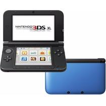 Nintendo 3 Ds Xl Original Lacrado Com Cartão Sd