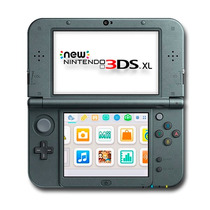 New 3ds Xl Nintendo Preto Original