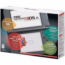 Nintendo New 3ds Xl Preto Ou Vermelho