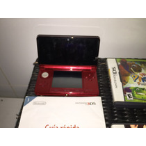 Nintendo 3ds Vermelho/preto Wifi -zerado Semi Novo