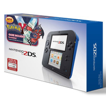 Nintendo 2ds Azul + Jogo Pokemon Y Bundle Pronta Entrega