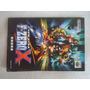 Manual F-zero X - Nintendo 64 Original Game Jogo Fita Japao