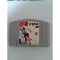 Fitas Nintendo 64 Fifa 98, Nagano, World Driver Originais