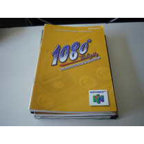 Manual Do Jogo 1080 Snowboarding - Original N64