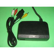 Kit Nintendo 64 Um Cabo Av E Uma Fonte 100 Ou 220v N64 Combo